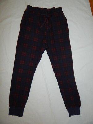 штаны мужские домашние пижамные флисовые рS