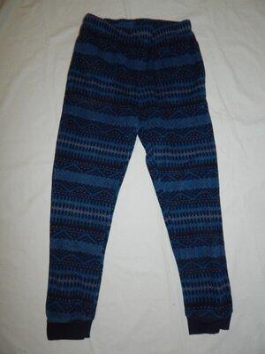 штаны флисовые мужские домашние пижамные тёплые рМ