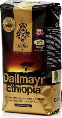Кофе в зернах Dallmayr Ethiopia Упаковка 500 грамм высший сорт
