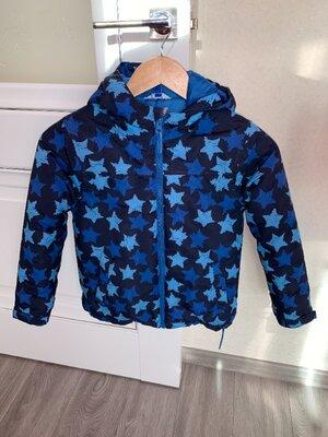 Демисезонная куртка на мальчика, куртка со звёздами