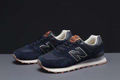 Кроссовки мужские New Balance 574, темно-синие