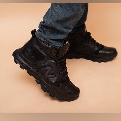 Зимние мужские кроссовки EXtrem нат кожа, качество высшее