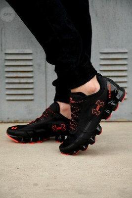 Under Arm0ur Scorpio Running shoes black/red