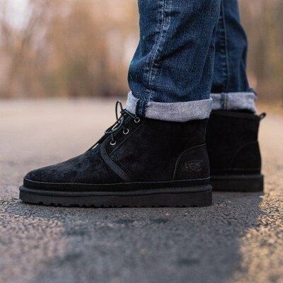 Угг ботинки чёрные UGG NEUMEL BOOT BLACK