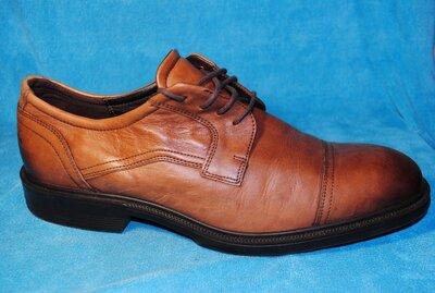 ecco туфли кожа 45 размер