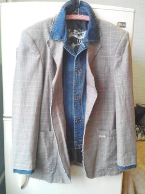 Стильный мужской пиджак cars jeans