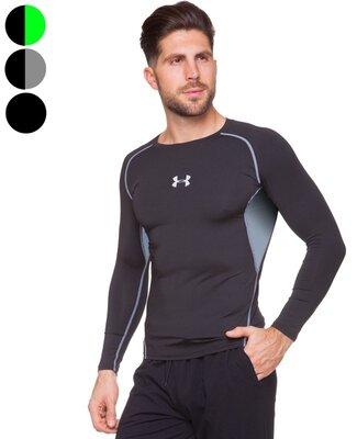 Компрессионная мужская футболка с длинным рукавом Under 704 размер M-2XL 165-185cм