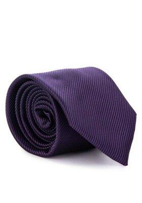 Качественный фиолетовый галстук Marks&Spenser