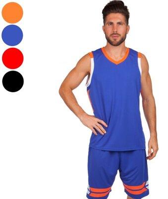 Форма баскетбольная мужская Lingo 8019 баскетбольная форма размер L-5XL рост 160-190см