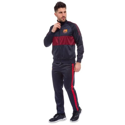 Костюм спортивный мужской Barselona 6130-BS3 костюм Barselona размер M-3XL 44-54