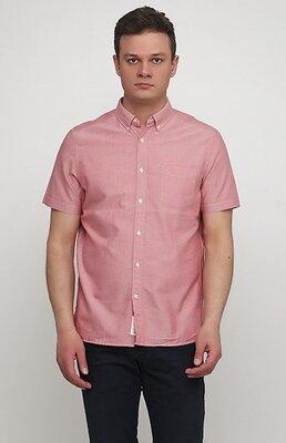 Оригинальная хлопковая рубашка Regular fit от бренда H&M разм. М