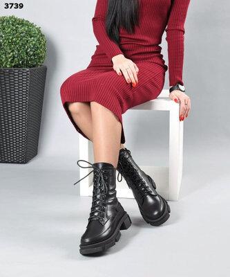 р.36-41 Натуральные женские ботинки деми демисезонные/зима зимние. Расцветки в ассортименте.