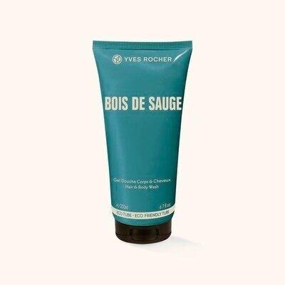 Мужской парфюмированный гель для тела и волос Bois de Sauge от Ив Роше, 200 мл