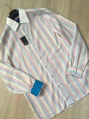 Шикарная мужская рубашка walbusch Германия ворот 41-42, ворот 43-44
