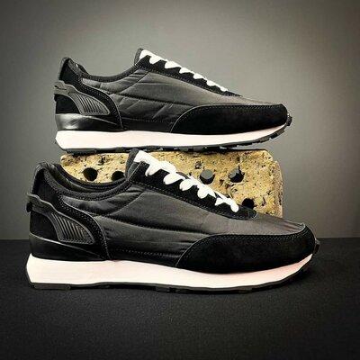 Мужские кроссовки black - white