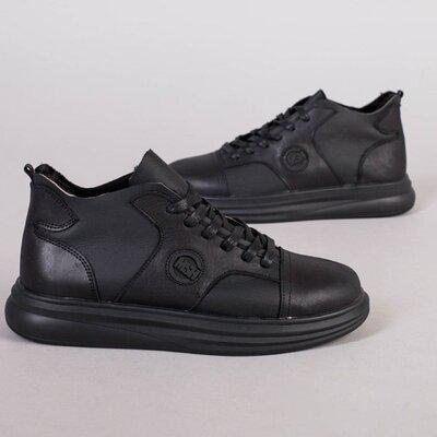 Мужские зимние ботинки, код 8231 з