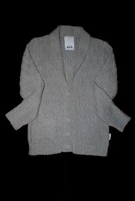 Кардиган HUMOR Дания Шерсть L / XL серый кофта свитер на пуговицах