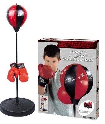 Набор бокс груша перчатки сорт подарок тренировки инвентарь