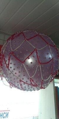 Мяч для фитнеса спорт отдых тренировки инвентарь подарок