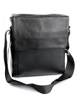 Мужская кожаная сумка чоловіча шкіряна сумочка на плече