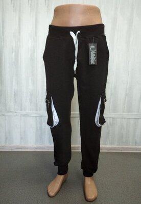 Продано: Штаны спортивные черные с широкими боковыми карманами