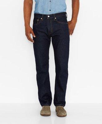 Классические синие джинсы New York р. 48-50 34/32 темно синие, Германия