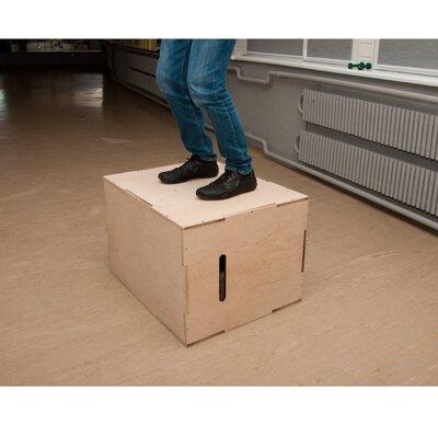 Тумба для кроссфита, плиометрический бокс из фанеры