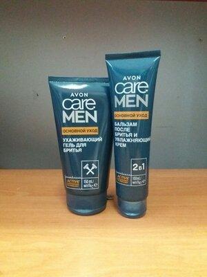 -40% набор основной уход гель для бритья бальзам после бритья care avon эйвон гоління ейвон