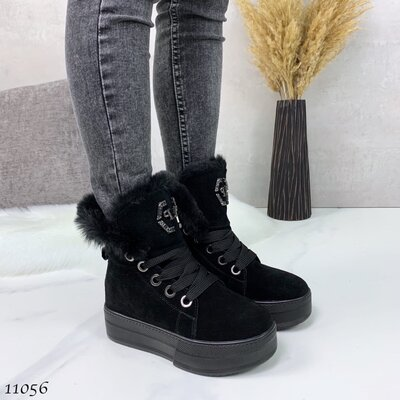 Женские зимние ботинки Philipp Plein