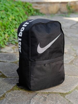 Рюкзак городской спортивный мужской женский черный nike найк вместительный
