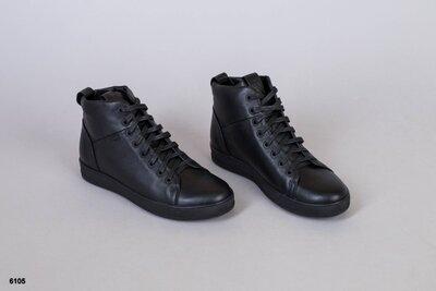 Код 6105 д Мужские ботинки Размеры 40-45 Сезон деми Материал верха натуральная кожа Внутри байк