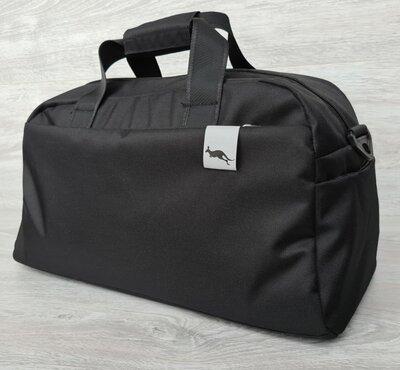 Продано: Спортивная вместительная сумка черного цвета 2151ч