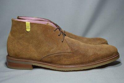 Floris van Bommel ботинки мужские кожаные замша. Оригинал. 46-47 р./32 см.