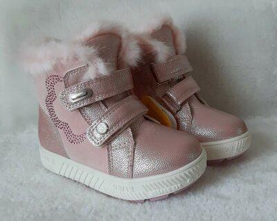 Зимние ботинки для девочек Тм Clibee Польша
