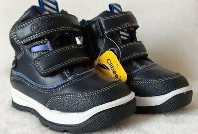 Зимние ботинки для мальчика Тм Clibee Польша