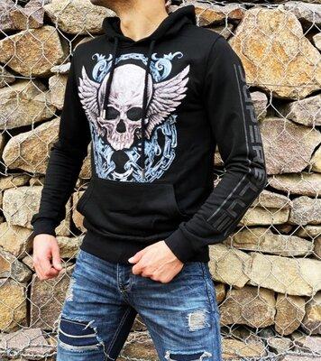 Крутейший худи SB Skull black