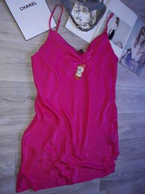 Обновы много белья love to lounge Яркая нарядная ночная рубашка р 14/16 сток