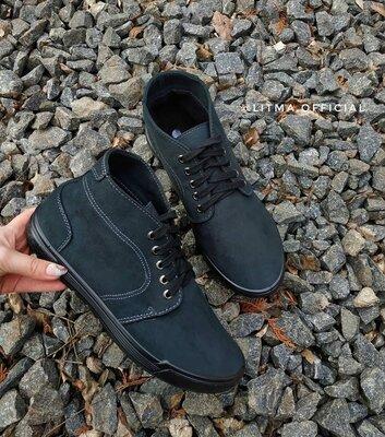 Мужские демисезонные ботинки сапоги кеды