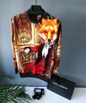 Стильный мужской свитшот Dolce&Gabbana S-XXL