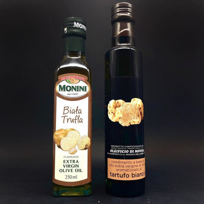 Продано: Масло оливковое Extra Vergine с белым трюфелем