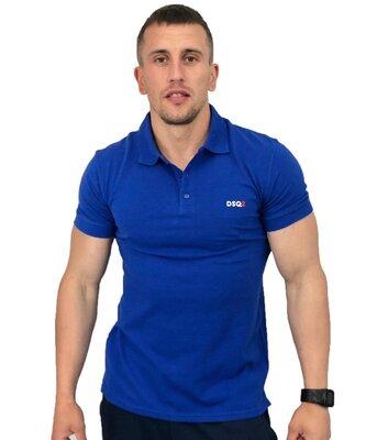 Синяя футболка Поло Sport Line - 5993