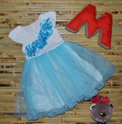 Акция Нарядное пышное платье на девочку, отличное качество