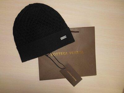 Продано: Шапка мужская черная Bottega Veneta, Италия