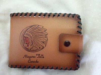 новый мужской кошелек Niagara Fals оригинал Канада кожзам портмоне бумажник