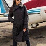 Стильная женская куртка-пальто Размеры 40, 42, 44, 46. 40 р можно на xxs-xs, 2 цвета