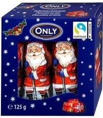 Австрия .Молочный шоколад Santa Clauses Only, 10 шт х 12,5 гр