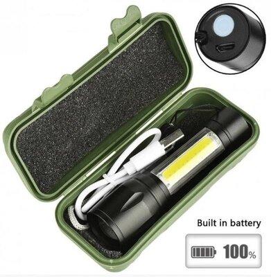 Аккумуляторный Светодиодный Фонарь LED Bailong BL-511 В Кейсе