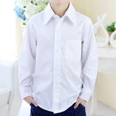 Распродажа Детская белая рубашка