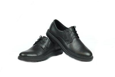 Кожаные- туфли - комфорт-.модель-BL-20.