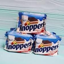 Вафли Knoppers C орехом, в молочном шоколаде